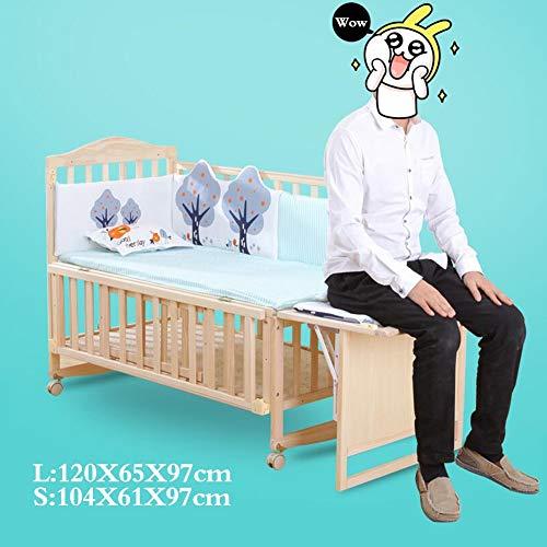 XY wieg Baby Bassinet Geen Spray Paint Multifunctionele Hout Baby schommelende wieg Bassinet Bed Sleeper Geboren Draagbare Peuter Bed Pasgeboren Baby Lounger Draagbaar L