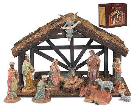 professional Avalon Gallery DiGiovanni Christmas crib 12-piece set