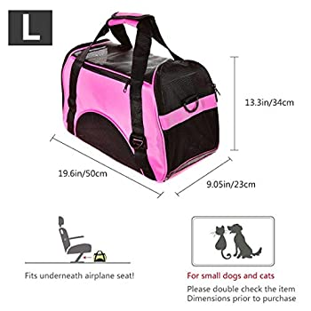 PETCUTE Sac de Transporteur pour Chats Caisse Transport Chat Panier Transport Chat Panier de Transport pour Chat