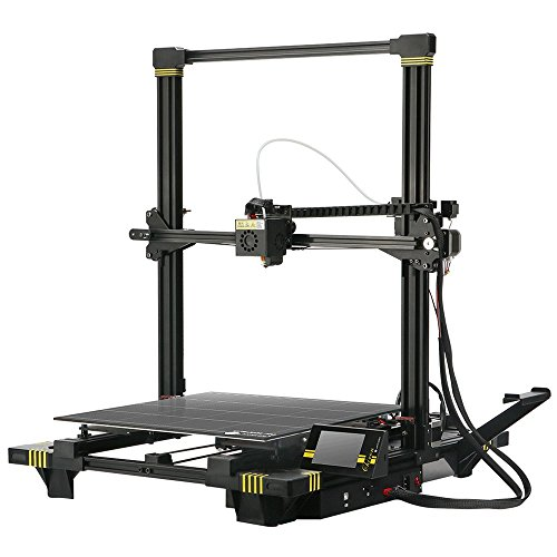 ANYCUBIC Chiron 3D Printer, Semi-auto Leveling Large 3D Printer with Ultrabase Heatbed, Suitable for 1.75 mm Filament, TPU, PLA, ABS, Print Size 400 x 400 x 450mm