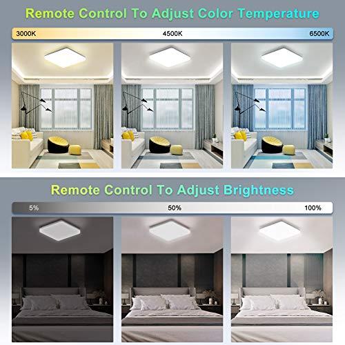 NIXIUKOL Iluminación de techo de interior