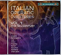 Italian Operatic Overtures, Vol. 1 by Various