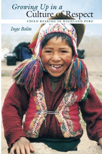 Growing Up in a Culture of Respect: Child Rearing in Highland Peru (Louann Atkins Temple Women & Culture Series) (English Edition)