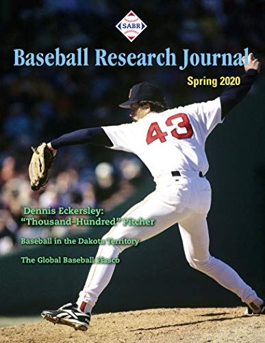 Baseball Research Journal (BRJ): Volume 49, #1 (Spring 2020 Issue) (English Edition)