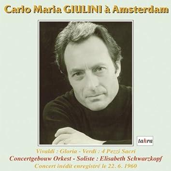 Carlo Maria Giulini in Amsterdam