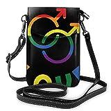 Homosexuality Love Small Messenger Bag Sacs à main décontractés Téléphone sac à main Portefeuille à bandoulière