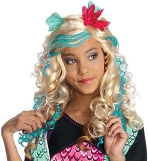 Rubies Monster High Lagoona Child Wig, Blue