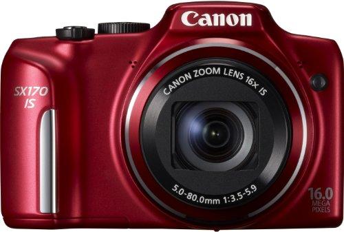 Canon PowerShot SX170 IS - Cámara Digital compacta de 16 MP (Pantalla de 3