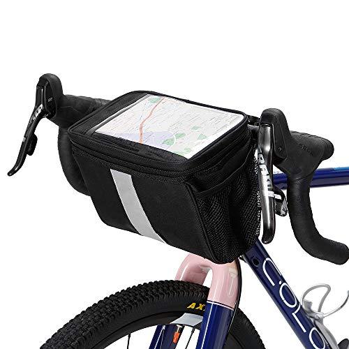 Lixada Fahrradtaschen Gepäckträger Wasserdicht Sitz Multifunktionale Tasche MTB Rennrad Rack Carrier 13L/25L (Bike lenkertasche)