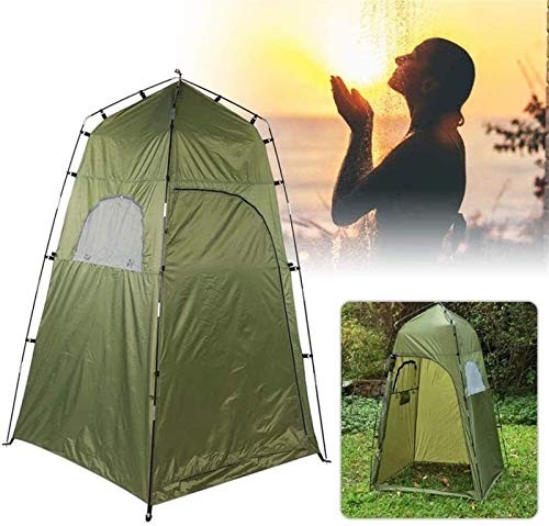 Plztou Privacy Tent for Portable Toilet Shower Privacy Tent for Outdoor Changing Dressing Fishing Bathing Storage Room Tents Removable Rain Shelters for Camping & Beach Easy Set Up