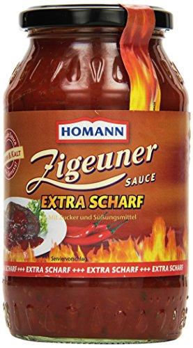 Homann Zigeuner- Sauce Extra Scharf, 6er Pack (6 x 720 ml)