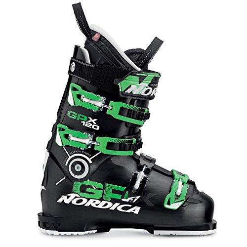 NORDICA(ノルディカ)大人用 GPX 120 オールマウンテン スキーブーツ 050F1200 T83ブラック×グリーン 25.5