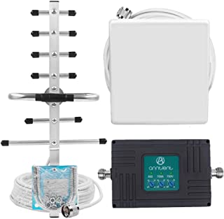 Cell Phone Signal Booster for Verizon AT&T GSM 3G 4G LTE - Tri-Band 850/700A/700V Cellular Repeater Kit Boost Voice & Data in Home or Office Up to 4,000Sq Ft (Band 5/12/13/17)