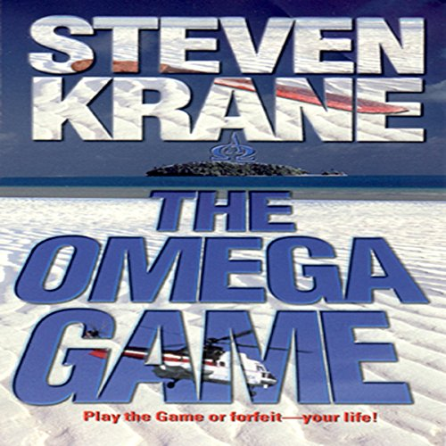 The Omega Game audiobook cover art