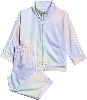 adidas Baby-Girls AG4425 Printed Tricot JKT & Pant Set Pants Set
