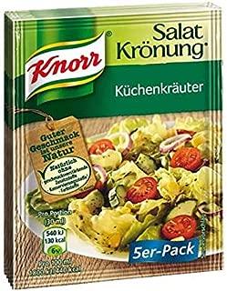 From Germany Knorr Salat Kronung Kuchenkrauter Salad Dressing 5 Pack