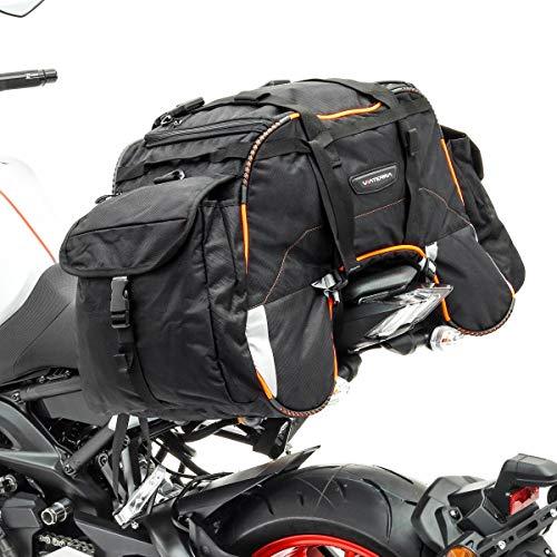 Hecktasche WP62 für Ducati Scrambler Café Racer orange