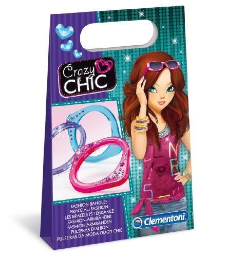 Clementoni - 15897.3 - Les bracelets tendances - Crazy Chick