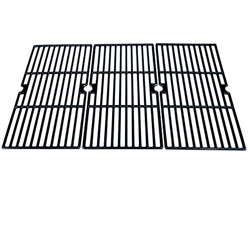 Direct Store Parts DC121 Polished Porcelain Coated Cast Iron Cooking Grid Replacement for Charbroil,Kenmore,Master Chef Gas Grill