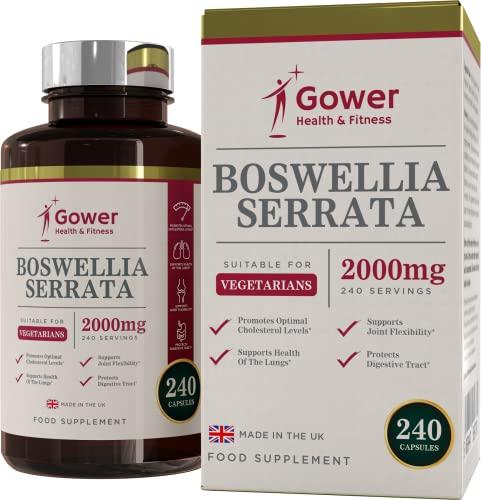 Gower Health & Fitness -  Boswellia Serrata