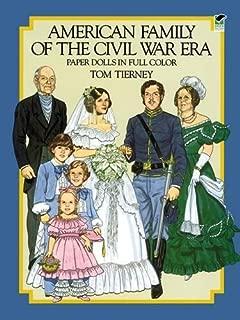 American Family of the Civil War Era Paper Dolls in Full Color (Dover Paper Dolls)