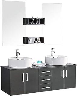 Muebles para baño Modelo Butterfly 150 cm para cuarto de ba