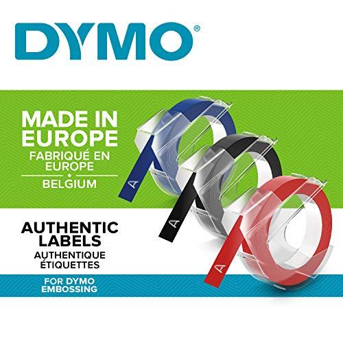 Dymo 3D Label Tapes - Cintas para Impresoras de Etiquetas (Bélgica, 40 (TBC), Ampolla)