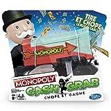 Monopoly Cash & Grab: Chope et Gagne - Juego de Mesa Divertido, versión Francesa