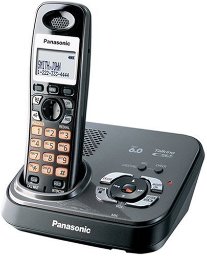Panasonic Dect 6.0 Expandable Digital Cordless Answering System - Single Handset System (KX-TG9331T)