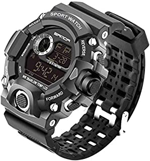 SANDA G-type outdoor leisure digital watch fashion men's sports LED quartz army S-SHOCK military