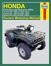 Honda Forman & Rubicon 400/450/500 ATV'S 1995 Thru 2007 (Owners' Workshop Manual) by Ken Freund (2007-08-15)