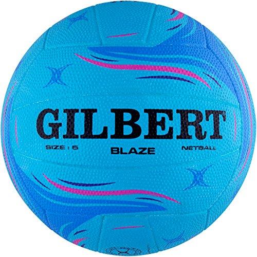 Gilbert Women's Blaze Match Net Ball, Blue, Size 5