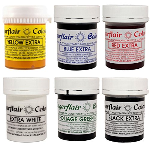 SUGARFLAIR EXTRA PASTE [FULL SET OF 6]