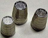 Be-Creative - Dedales de fundición antideslizantes, pequeños, medianos, grandes, 3 (grande)