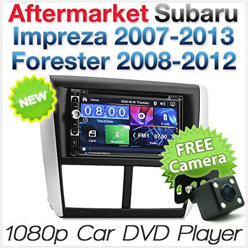Tunez Auto-DVD-speler, USB, Stereo, Radio, Subaru Impreza GE, GH, GR, GV, G3, Facia, Fascia-Kit