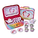 Lucy Locket Magical Unicorn Metal Tea Set & Carry Case Toy