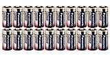 Panasonic CR123A Lithium-Batterie, 3 V, 20 Stück