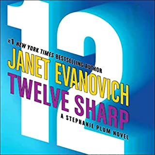 Twelve Sharp audiobook cover art