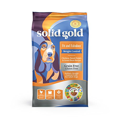 Solid Gold - Fit & Fabulous with Natural Chicken, Sweet Potato & Green Bean Recipe - Grain Free...