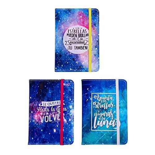 """Notizbuch \""""Universal\"""" mit elastischem Band, originelles Notizbuch und günstiges Geschenk für Hochzeit, Taufe, Kommunion und Geburtstag"""