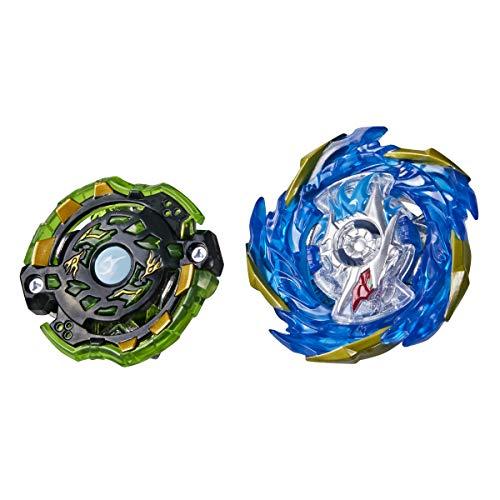 BEYBLADE Burst Surge Speedstorm Evo Helios Blazebringer and Jormuntor J6 Spinning Top Dual Pack -- 2 Battling Game Top Toy for Kids Ages 8 and Up