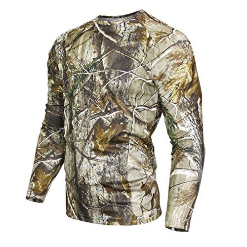 Raptor Hunting Solutions Herren Realtree AP Camo T-Shirt Langarm(M)