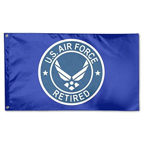 UDSNIS Bandera de jardín Escudo de Armas de El Salvador 3 x 5 Bandera para decoración al Aire Libre