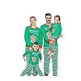 Webuyii - Conjunto de pijamas de Navidad con diseño de familia