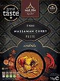 Traditional Thai Massaman Curry Paste (3 Pack) by Mae Jum | Great Taste Award Winner 2020