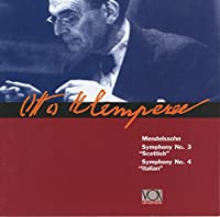 Otto Klemperer Conducts Mendelssohn Symphonies 3 & 4