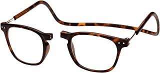 Clic Magnetic Reading Glasses Manhattan in Tortoise +2.50