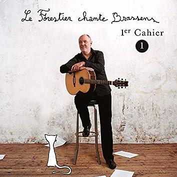 Le Forestier chante Brassens Cahier 1 - Vol 1