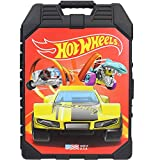 Hot Wheels 48- Car storage Case With Easy Grip Carrying Case, 48-car
