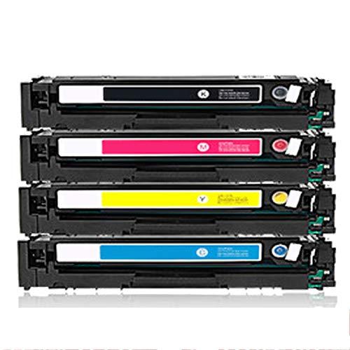 Reemplazo de cartucho de tóner compatible para HP 203A CF540A para HP Color LaserJet Pro M254DN M254DW M254NW M280NW M281CDW M281FDN M281FDW Impresora con chip set